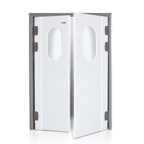 Маятниковые двери из полиэтилена INCOLD