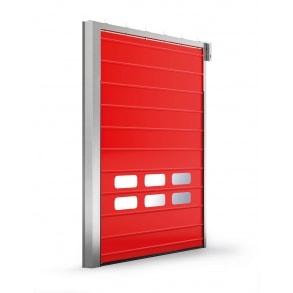 Секционные подъемные двери Fold-up INCOLD