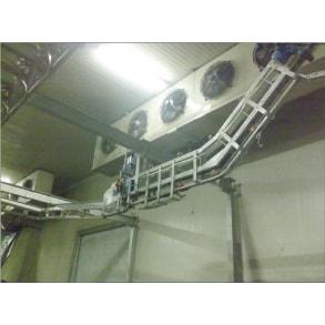Автоматическое снятие шкур с крюков BLASAU