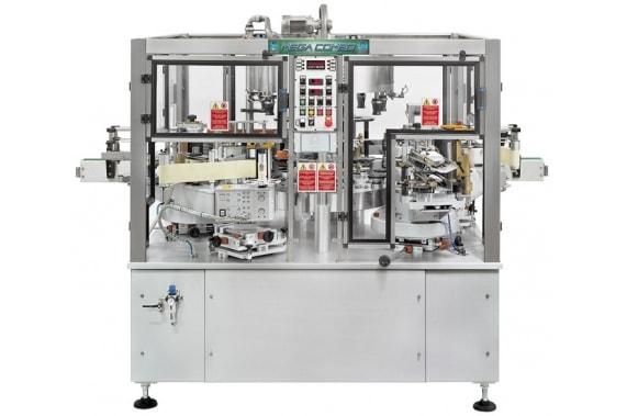 6000-24000 б.ч. комбинированная этикетировочная машина Mega Combo 1 BRB Globus
