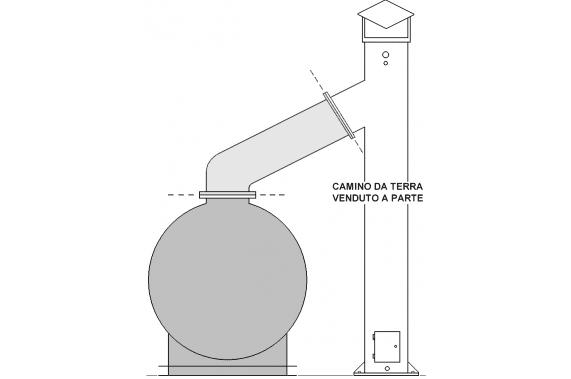 Дымовая труба OP PANINI