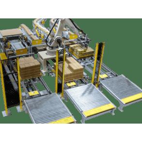 Системы паллитизации и логистики картонных коробов UNI-TECH