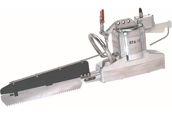 Сабельная пила для распиловки на полутуши с электрическим приводом 69 EFA