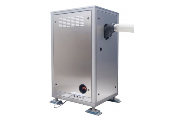 1250 кг в сутки генератор гранулированного льда для рыболовецких судов Ziegra