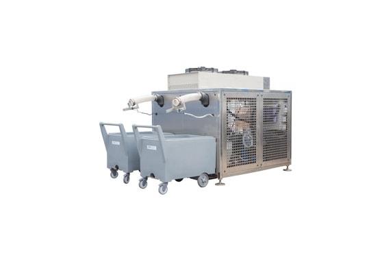 5000  кг в сутки промышленный генератор гранулированного льда  Ziegra