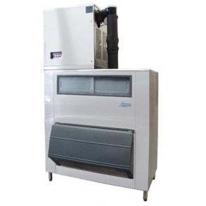 1000 кг в сутки генератор кускового льда с накопителем 500 кг и  Smartgate Ice  Ziegra