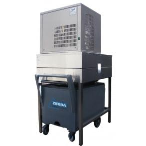 350 кг в сутки генератор гранулированного льда с рамой и тележкой Ziegra