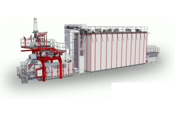 Линии  производства короткорезанных макарон от 1000 кг/ч E.N.A. AXOR OCRIM