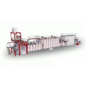 L.P.L. Многоуровневая линия для длинных макаронных изделий 4000 кг/час AXOR OCRIM