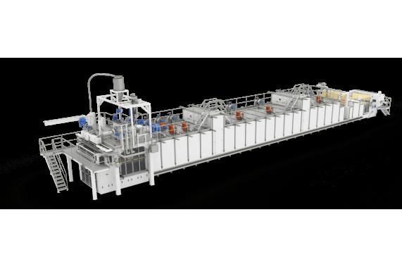 Линия длиннорезанных макаронных изделий без глютена 1000 кг/час  AXOR OCRIM