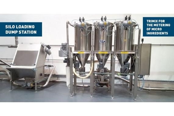 Система выгрузки 50 кг мешков с мукой Medium bag discharger CEPI