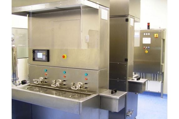 Ручной стерильный блок розлива IDROINOX