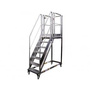 Передвижная лестница UNI-TECH