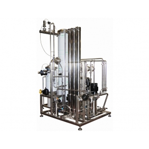 450kg/h Clean Steam Generator and Reverse Osmosis IDROINOX