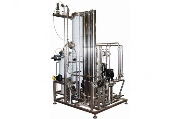 чистый парогенератор 400 кг/ч  IDROINOX