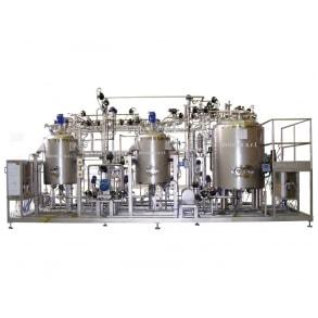 Установка для приготовления трех ферментов IDROINOX