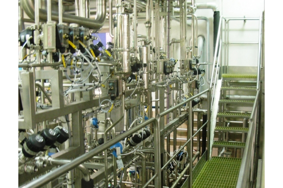 Цеха распределения и хранения жидких продуктов UNI-TECH