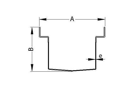 Дренажные желоба с решетками UNI-TECH