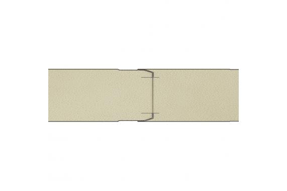Сендвич панели c возможностью наращивания путем пазогребневого соединения линейного исполнения GS112-BS1 INCOLD