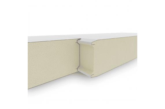 Сендвич панели c возможностью наращивания путем пазогребневого соединения линейное исполнение GS112-CS3 INCOLD