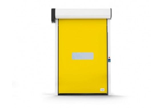 Рулонная дверь на магнитных замках Roll-up zip INCOLD