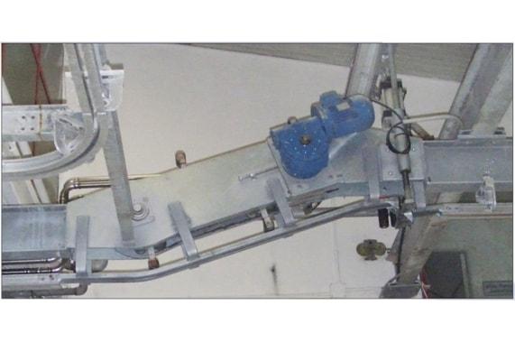 Механизм смены уровня высоты движения туш BLASAU