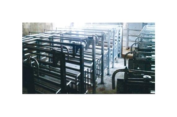 Индивидуальные стойла для скота BLASAU