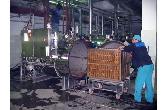 Автоклав распыления перегретой воды SPRAY OP Panini