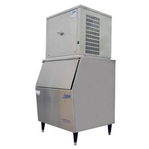 125 кг в сутки генератор кускового льда с накопителем 130 кг Ziegra