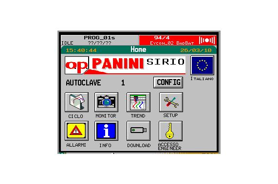 Автоклав для всех видов продуктов DUAL OP Panini
