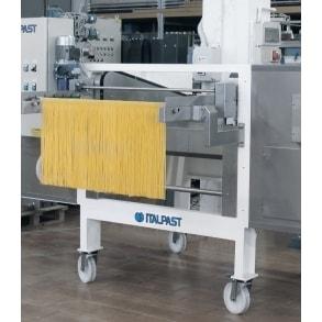 Машина удаления спагетти с бастунов и их нарезки SL600 ITALPAST
