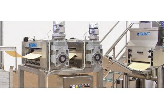 Машина для производства лазаньи и гнезд N600L ITALPAST