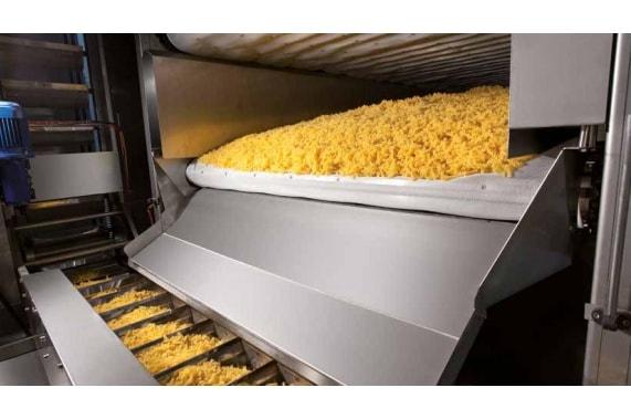 Линия короткорезанных макарон 1000 кг в час ITALPAST