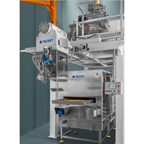Линия короткорезанных макарон 300 кг в час ITALPAST