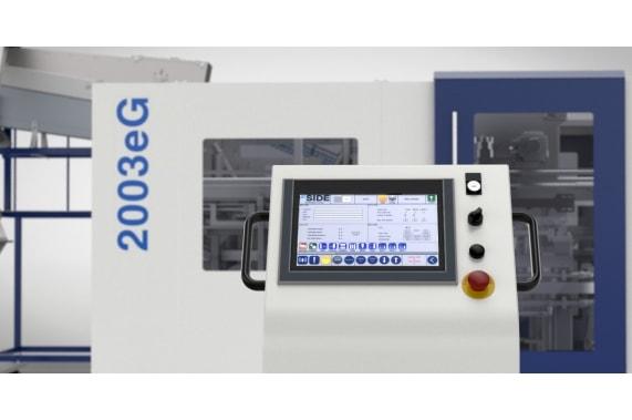 3800 б.ч. до 10 литров выдувная машина 2003eG SIDE