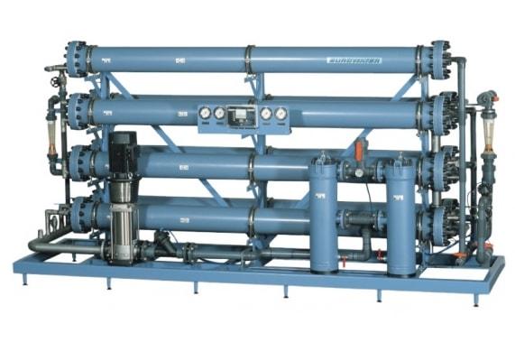 2 - Обратный осмос промышленные системы, установки, технология EUROWATER