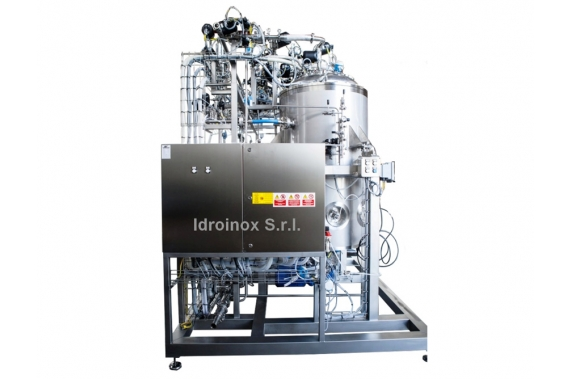 Установка для приготовления двух ферментов IDROINOX