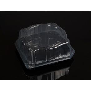 ПЭТ контейнер для кондитерских изделий с крышкой тип B
