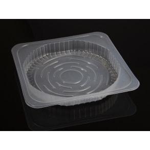 Многофункциональная пищевая ПЭТ тарелка тип B