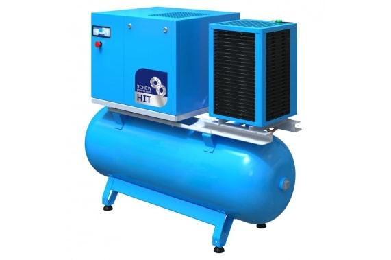 Винтовой компрессор на ресивере HIT 2.2-7.5 kW U-Compressors