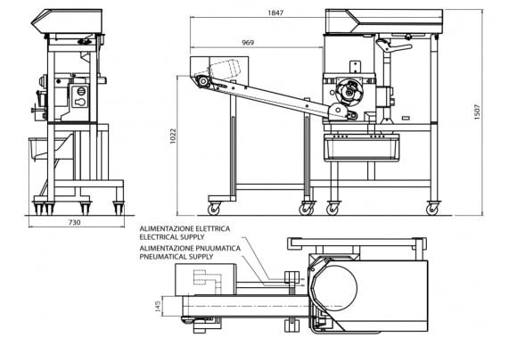 Котлетоформовочный аппарат HD4000 Uni-Tech